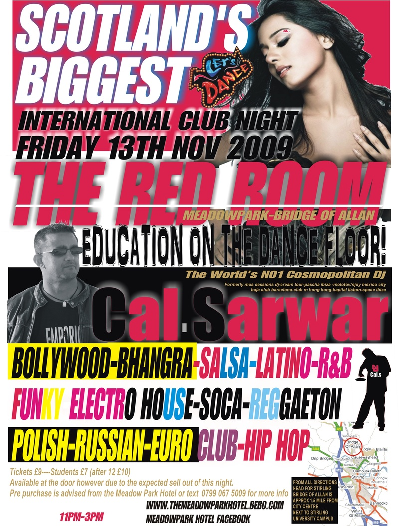 International Club Night (SCOTLAND 09)