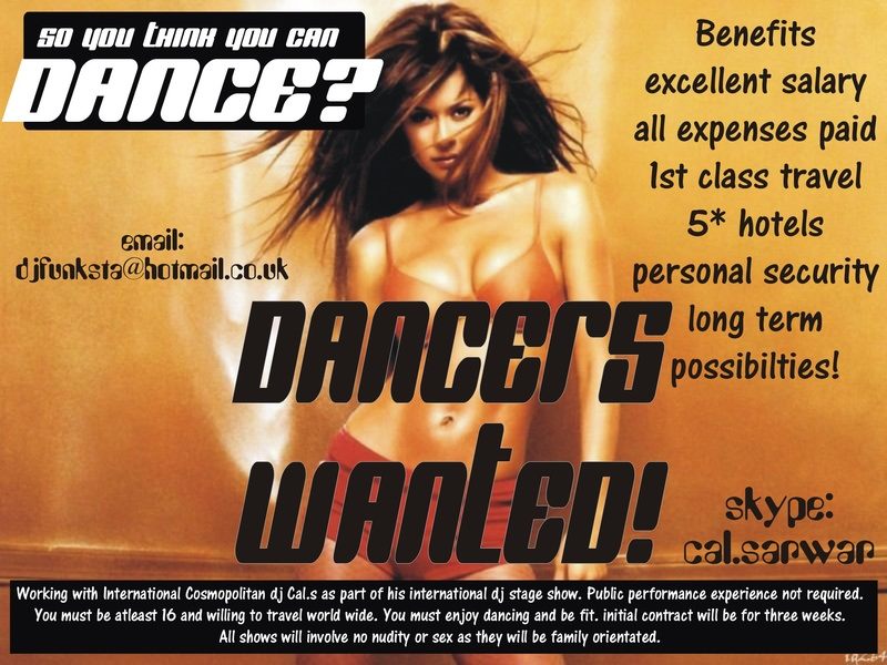 Dancers Wanted (International)